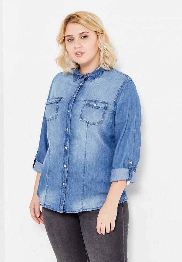 Рубашка джинсовая Rosa Thea Rosa Thea RO043EWVXW58 rosa евро чёрный