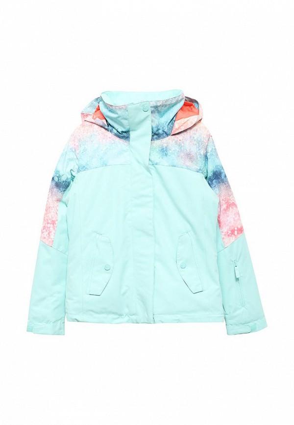 куртка женская roxy billie цвет бирюзовый erjtj03121 bfk0 размер s 42 Куртка горнолыжная Roxy Roxy RO165EGVOJ96