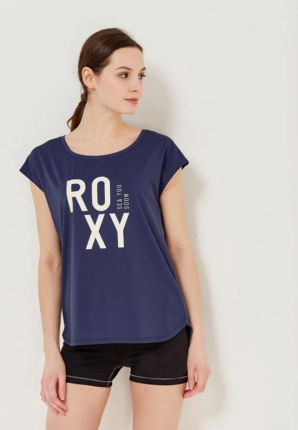 Футболка спортивная Roxy Roxy RO165EWAKEB6 roxy kids круг на шею flipper fl001 для купания малышей 0 roxy kids