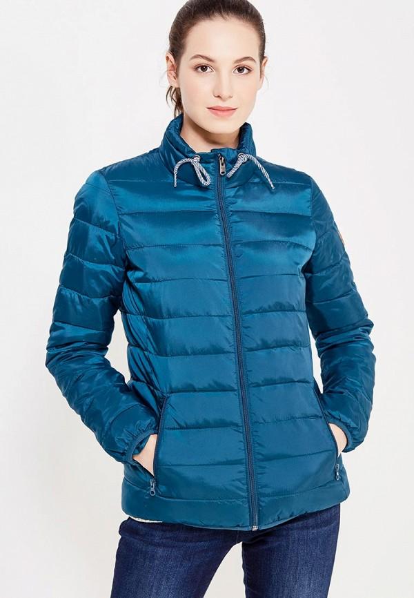 куртка женская roxy billie цвет бирюзовый erjtj03121 bfk0 размер s 42 Куртка утепленная Roxy Roxy RO165EWVOG16