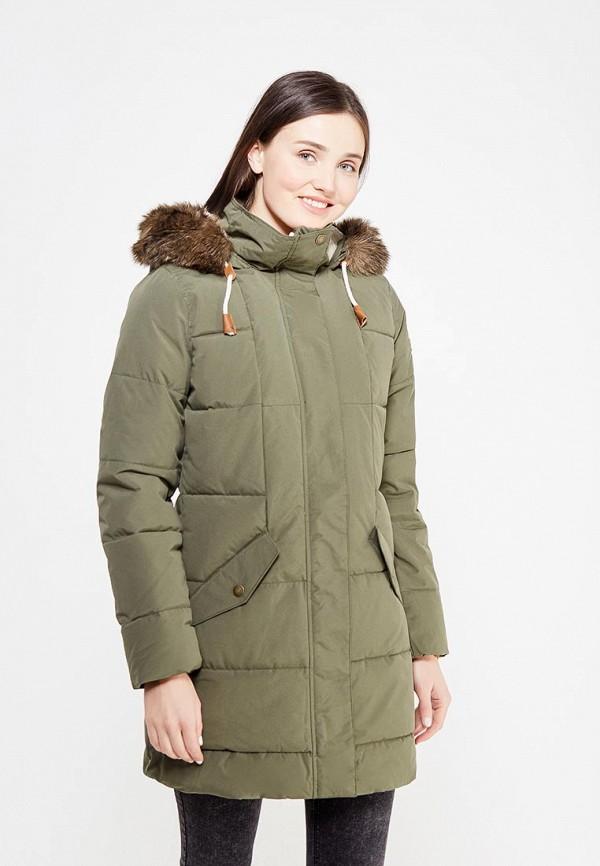 Куртка утепленная Roxy Roxy RO165EWVOH37 куртка горнолыжная roxy roxy ro165ewvoi20