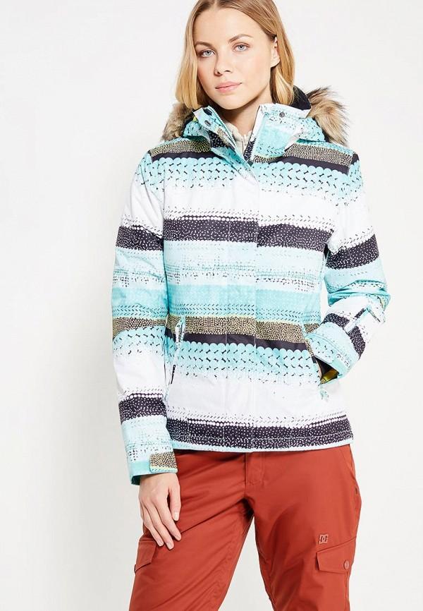 куртка женская roxy billie цвет бирюзовый erjtj03121 bfk0 размер s 42 Куртка горнолыжная Roxy Roxy RO165EWVOJ32