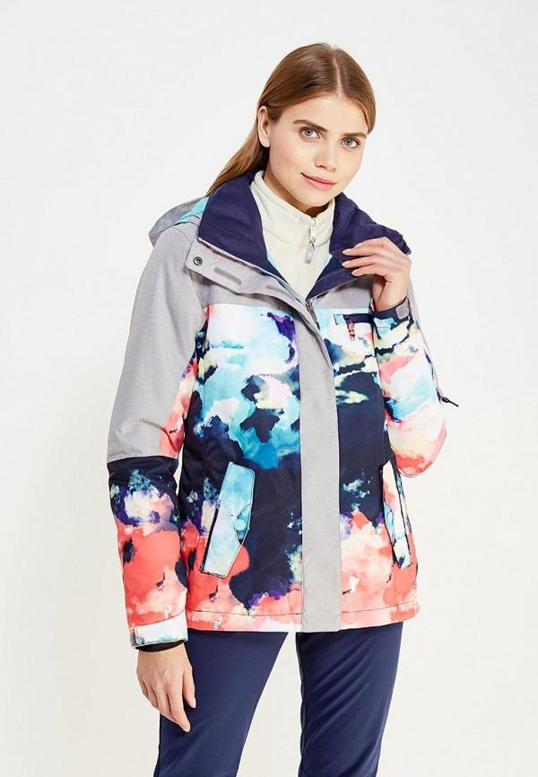куртка женская roxy billie цвет бирюзовый erjtj03121 bfk0 размер s 42 Куртка горнолыжная Roxy Roxy RO165EWVOJ42