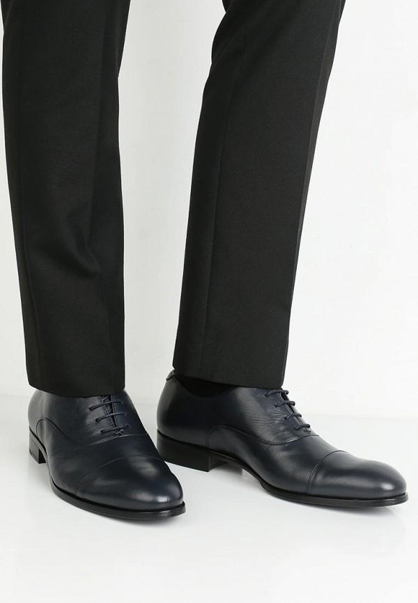 Фото 5 - мужские туфли Roberto Botticelli синего цвета