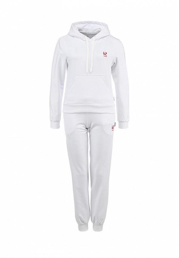 Женские спортивные костюмы белого цвета