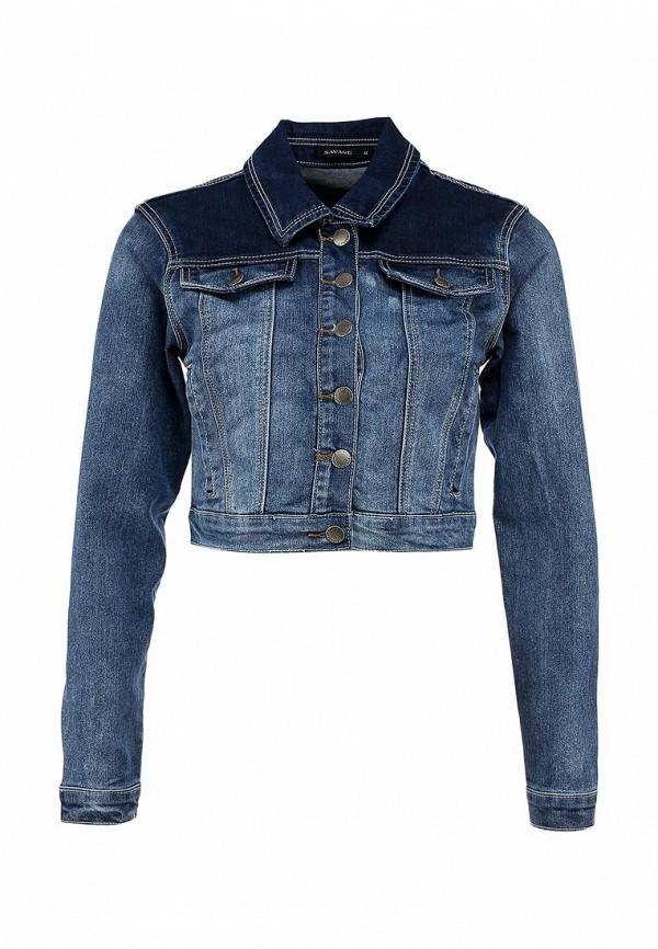 Куртка джинсовая Savage SA004EWBPU03. Цвет: синий