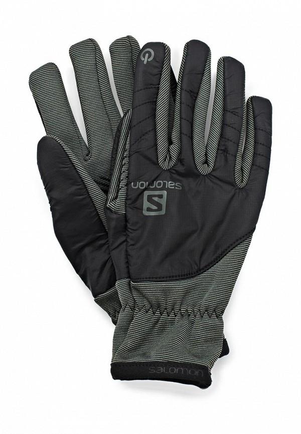 Перчатки Salomon SA007DMBXC77. Цвет: хаки