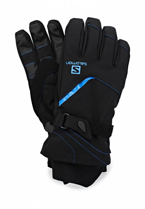 Перчатки горнолыжные Salomon SA007DMBXC78. Цвет: черный