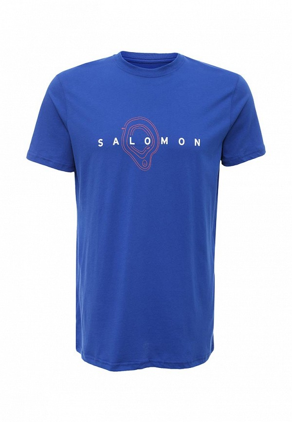 Футболка с надписями SALOMON (Саломон) L38208600