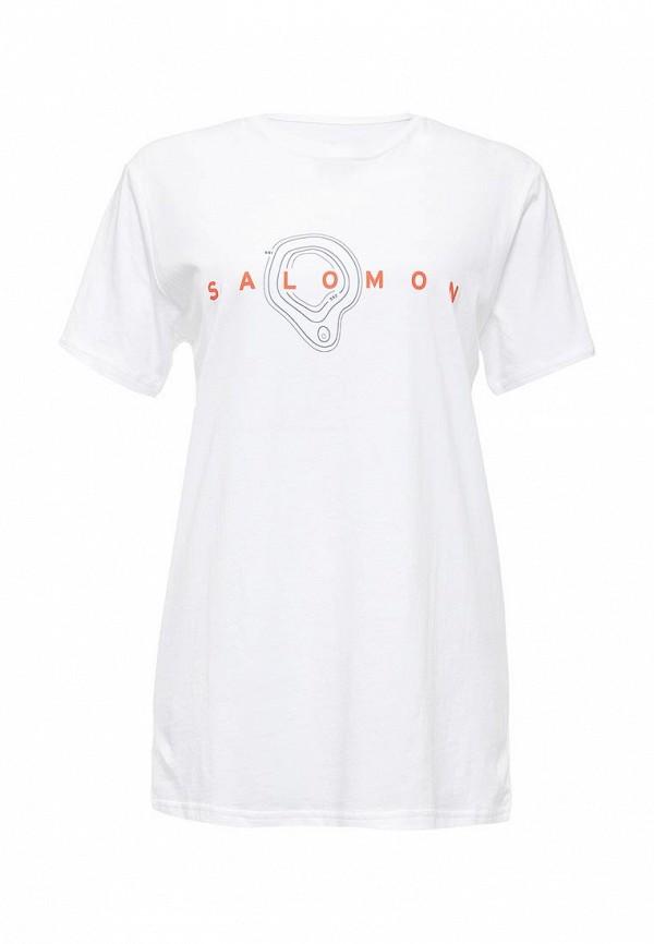 Футболка с надписями SALOMON (Саломон) L38208900