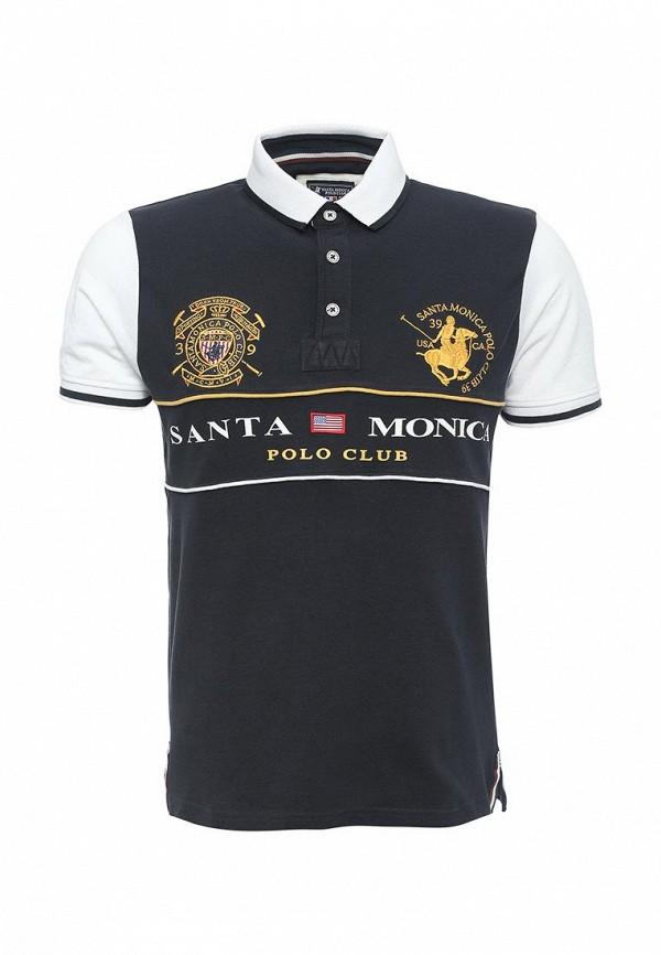 Мужские поло Santa Monica Polo Club M707693C