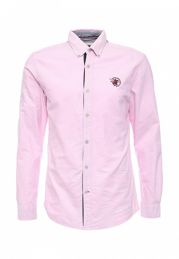 Рубашка с длинным рукавом Santa Monica Polo Club M605418C PK A