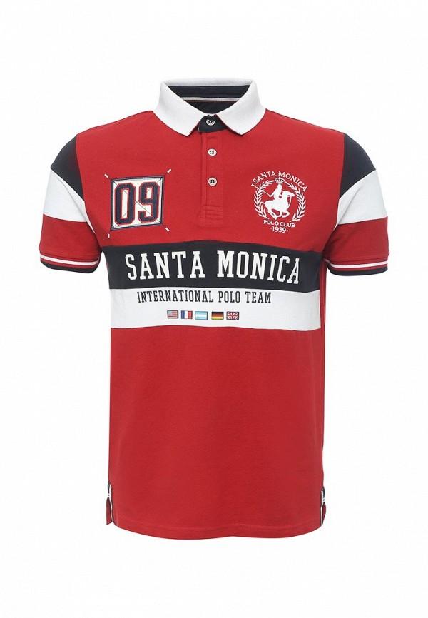 Мужские поло Santa Monica Polo Club M707684C