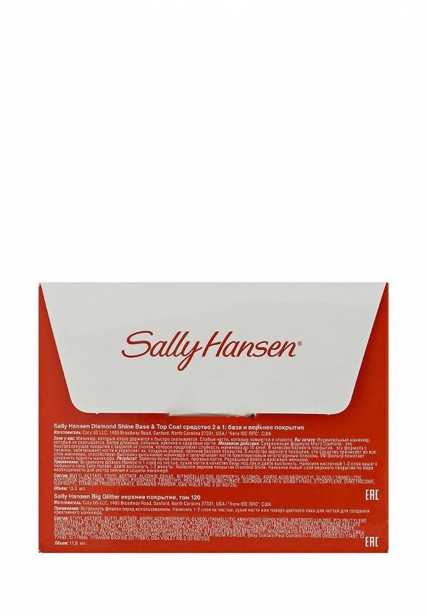 Набор Sally Hansen Средство 2в1 diamond strength и верхнее покрытие big #120