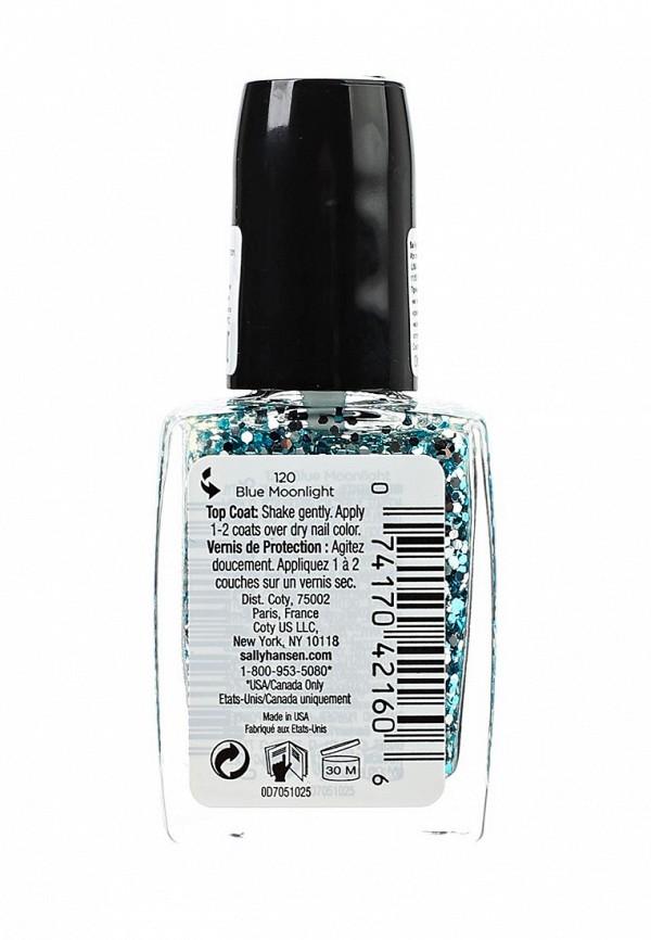 Декоративная косметика Sally Hansen Nailcare для создания мерцающего эффекта big glitter top coat тон 120