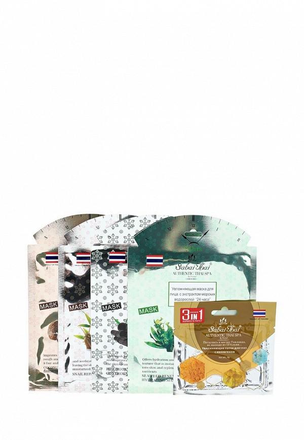 Набор масок для лица Sabai Thai Authentic SPA Sabai Thai Authentic SPA SA050LWANHS1 набор крем kora набор spa лифтинг уход набор