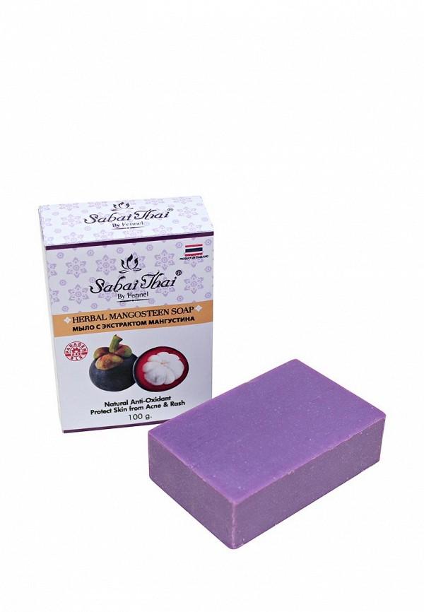 Купить Мыло Sabai Thai Authentic SPA, с экстрактом мангустина 100 гр, SA050LWANLH2, фиолетовый, Весна-лето 2018
