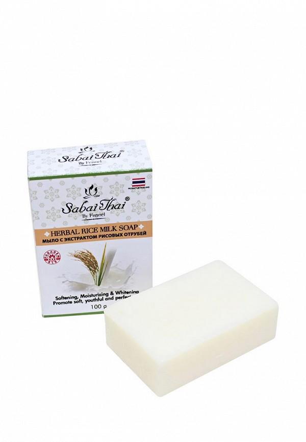 Купить Мыло Sabai Thai Authentic SPA, с экстрактом рисовых отрубей 100 гр, SA050LWANLH4, белый, Весна-лето 2018