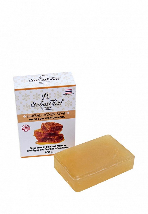 Купить Мыло Sabai Thai Authentic SPA, с экстрактом меда 100 гр, SA050LWANLH8, прозрачный, Весна-лето 2018