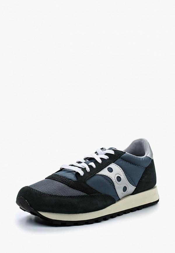 Фото 6 - мужские кроссовки Saucony синего цвета