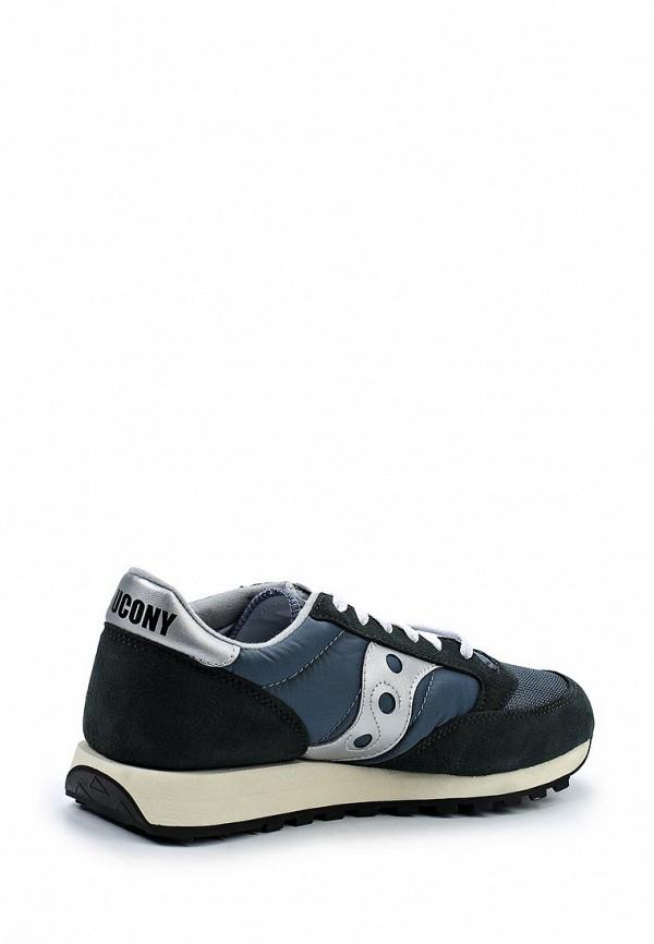 Фото 2 - мужские кроссовки Saucony синего цвета