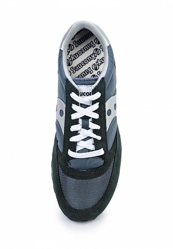 Фото 4 - мужские кроссовки Saucony синего цвета