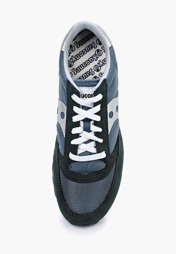 Фото 9 - мужские кроссовки Saucony синего цвета
