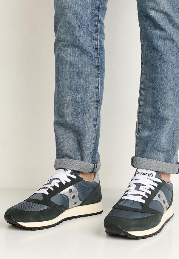 Фото 5 - мужские кроссовки Saucony синего цвета