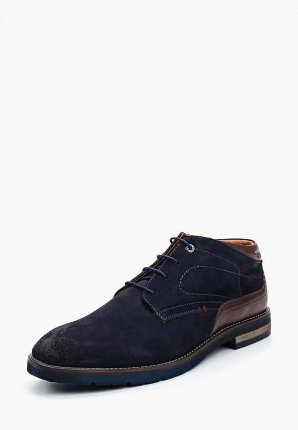 Фото - мужские ботинки и полуботинки Salamander синего цвета