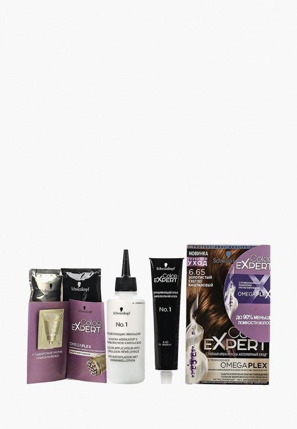 Купить Краска для волос Schwarzkopf, Color Expert 6.65 Золотистый светло-каштановый, 167 мл, SC001LWSII59, Весна-лето 2018