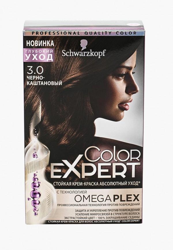 Купить Краска для волос Schwarzkopf, Color Expert 3.0 Черно-каштановый, 167 мл, SC001LWTXA35, Весна-лето 2018