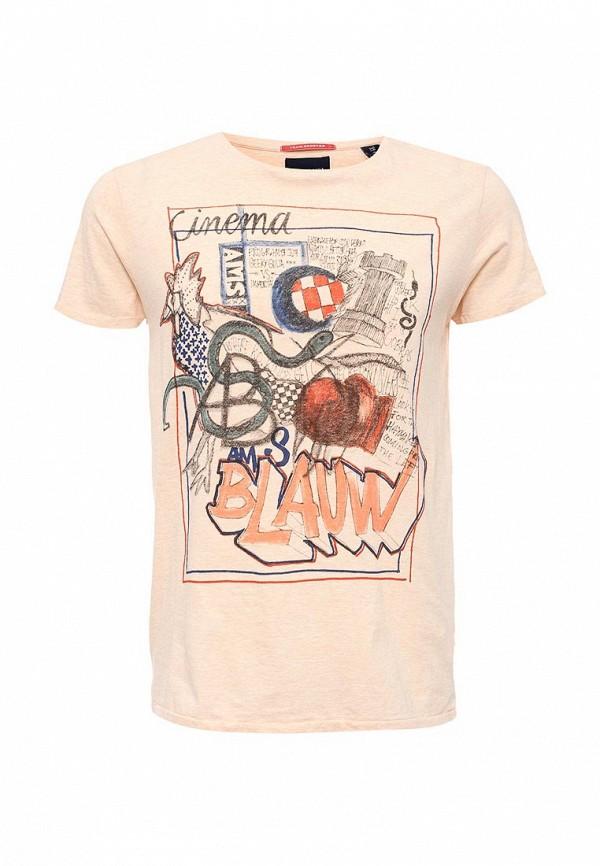 Футболка с надписями Scotch&Soda (Скотч энд Сода) 132.1606.0651100100.40