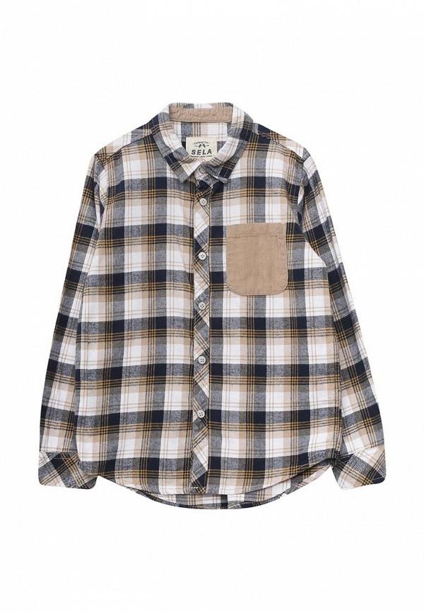 Рубашка Sela Sela SE001EBURW15