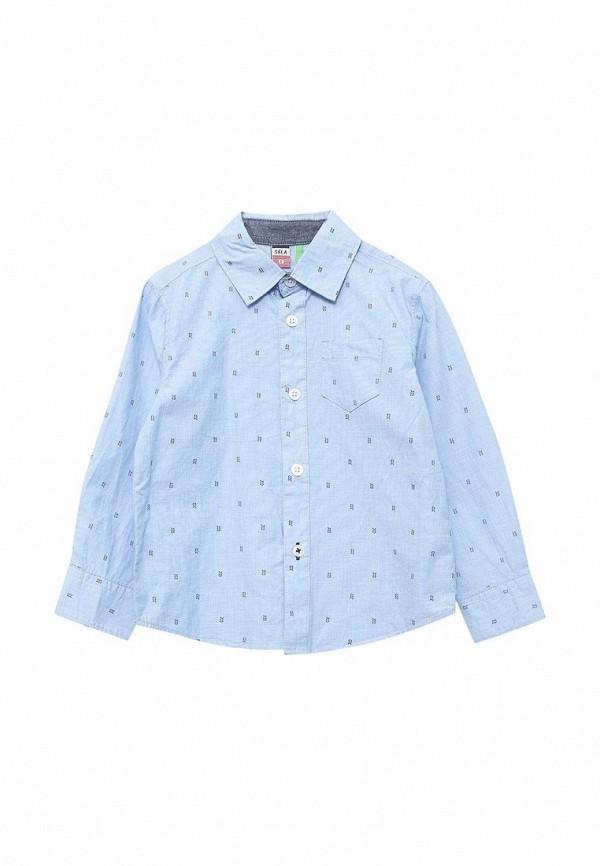 Рубашка Sela Sela SE001EBZMS08 рубашка мужская sela цвет небесно голубой h 212 036 7111 размер 40 46