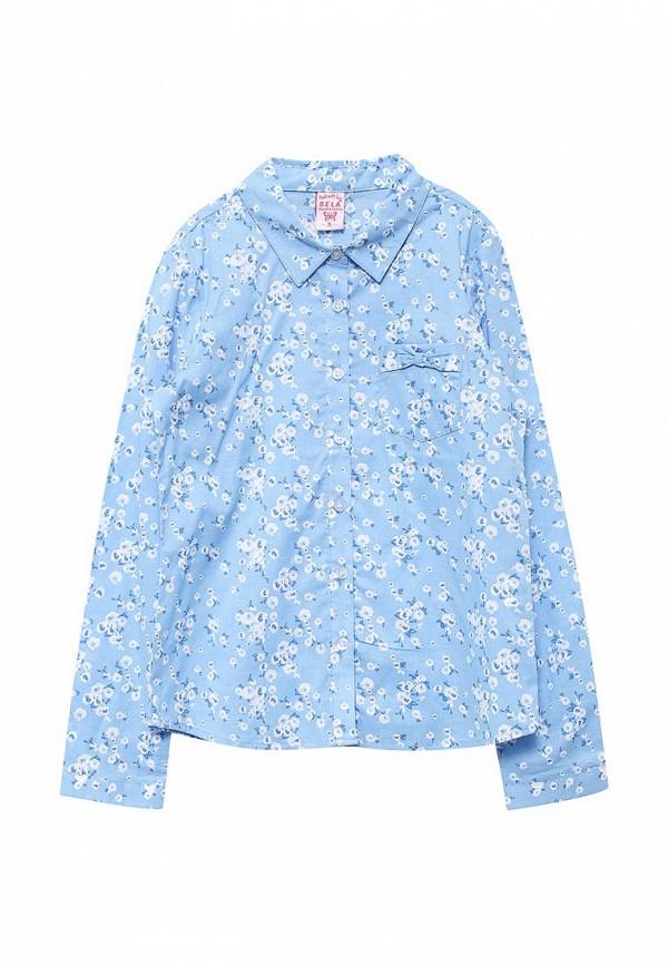 Купить блузку или рубашку для девочки Sela голубого цвета
