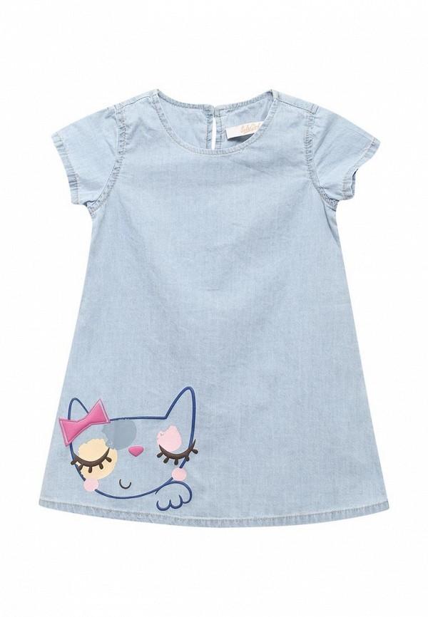 Платье джинсовое Sela Sela SE001EGZMR85 джинсовое платье