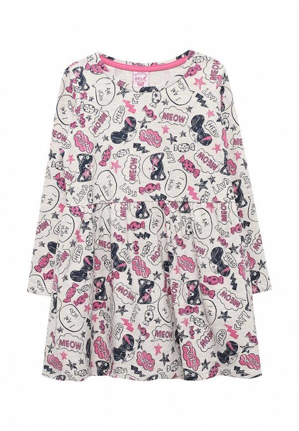 Платье Sela Sela SE001EGZMR88 брюки sela брюки