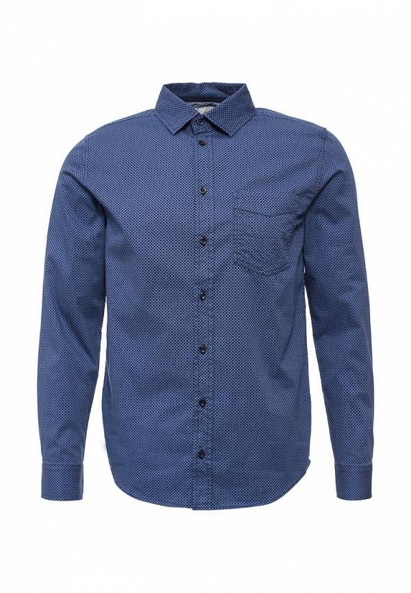 Мужская синяя рубашка SELA