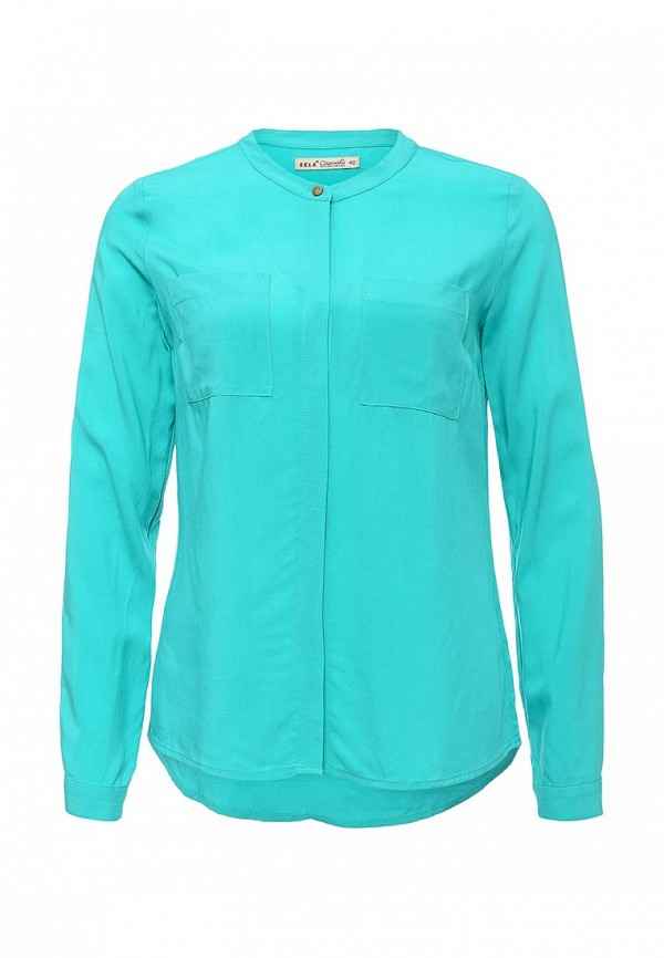 Бирюзовая блузка SELA
