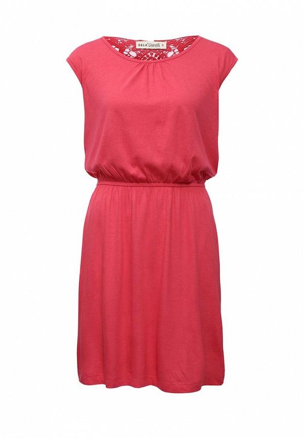 Платье-миди Sela (Сэла) Dksl-117/831-6226