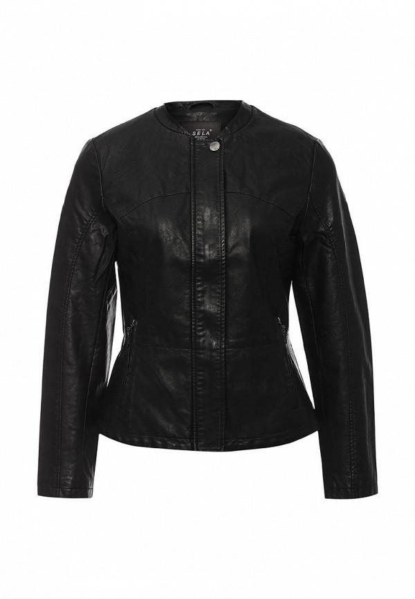 Кожаная куртка Sela (Сэла) Cpu-126/705-6331