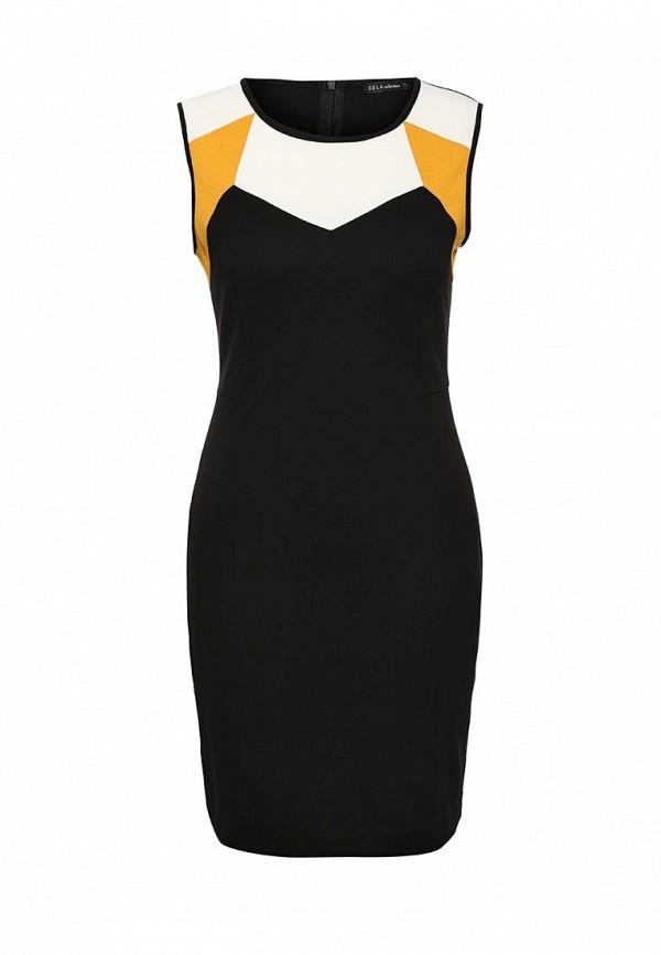 Платье-миди Sela (Сэла) Dksl-117/1061-6391