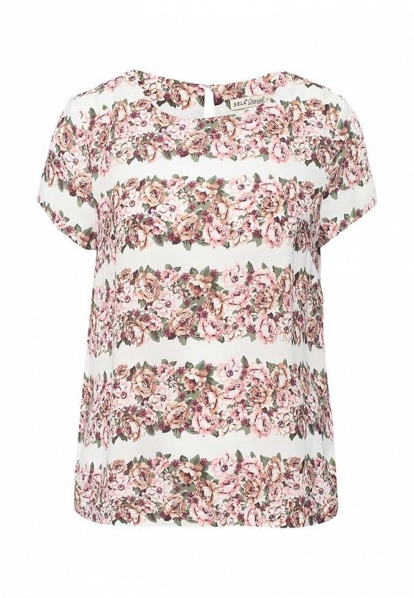 Блуза Sela Sela SE001EWOQD01 блуза sela sela se001egurv38