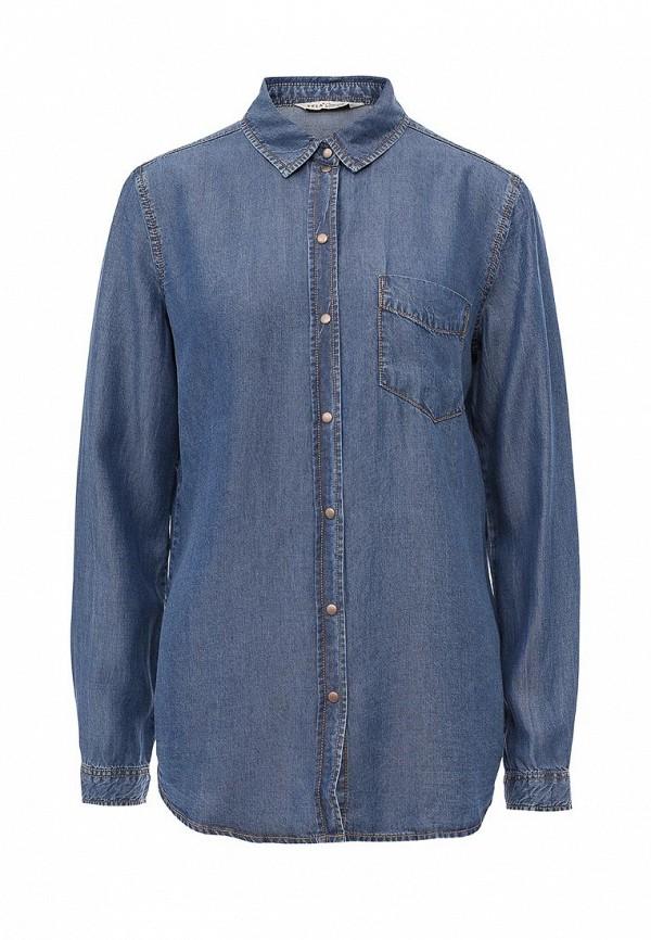 Рубашка джинсовая Sela Sela SE001EWOQD26