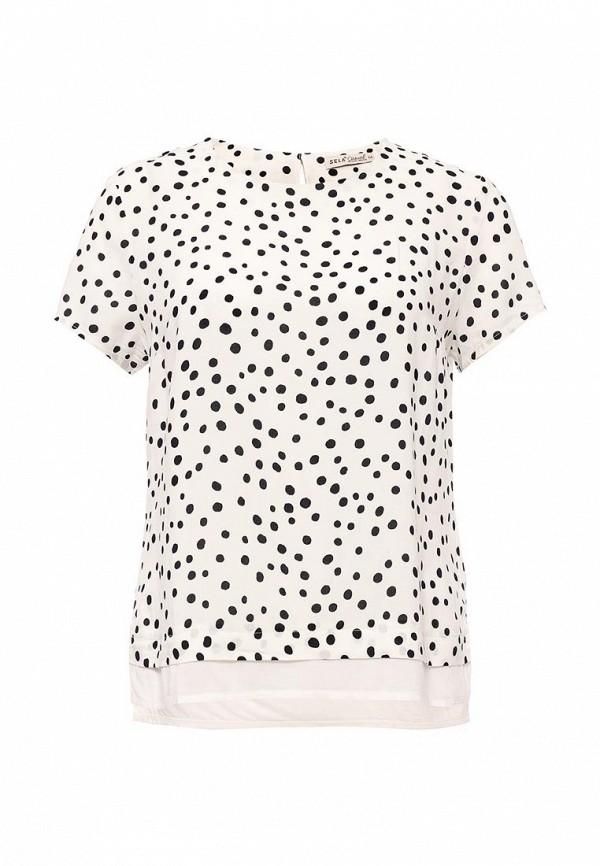 Блуза Sela Sela SE001EWOQD56 блуза sela sela se001egurv38