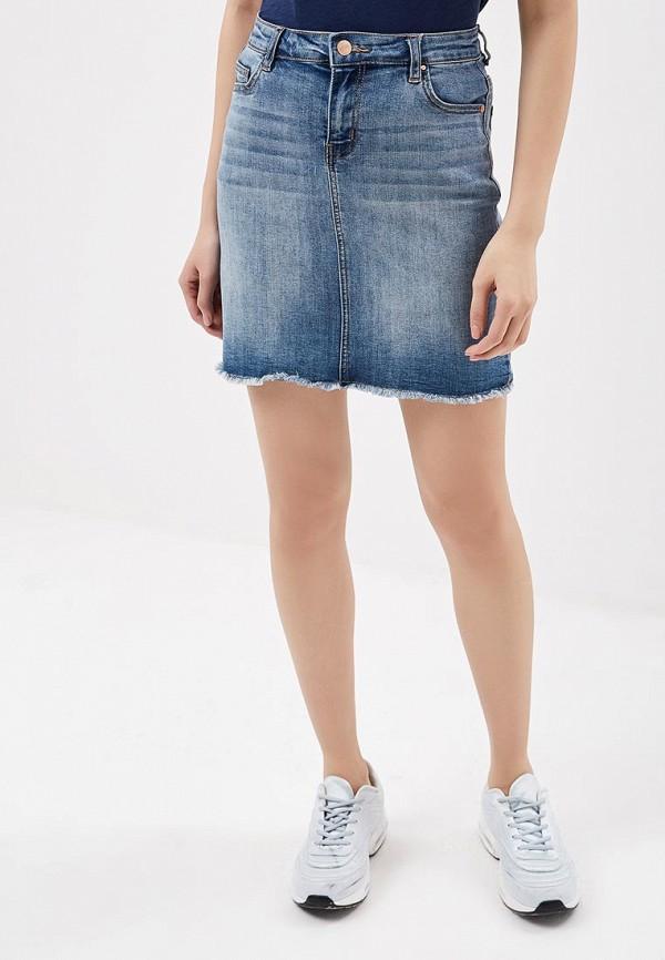 Юбка джинсовая Sela Sela SE001EWZMZ02 брюки sela брюки