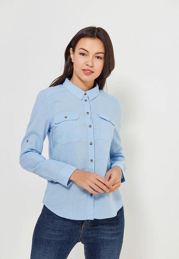 Рубашка Sela Sela SE001EWZNC19 рубашка мужская sela цвет небесно голубой h 212 036 7111 размер 40 46