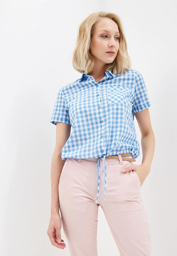 Рубашка Sela Sela SE001EWZNC41 рубашка мужская sela цвет небесно голубой h 212 036 7111 размер 40 46