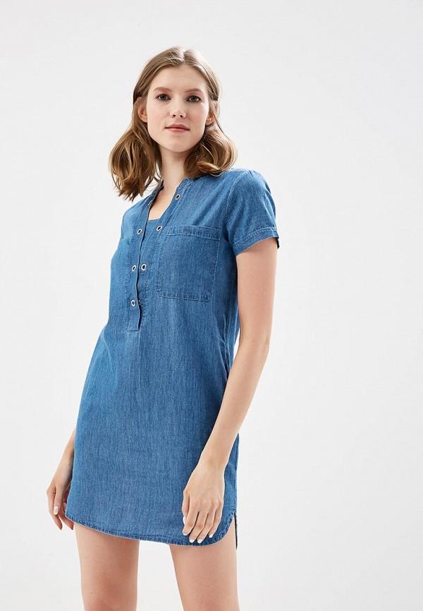 Платье джинсовое Sela Sela SE001EWZNC55 платье джинсовое sela sela se001ewznc54