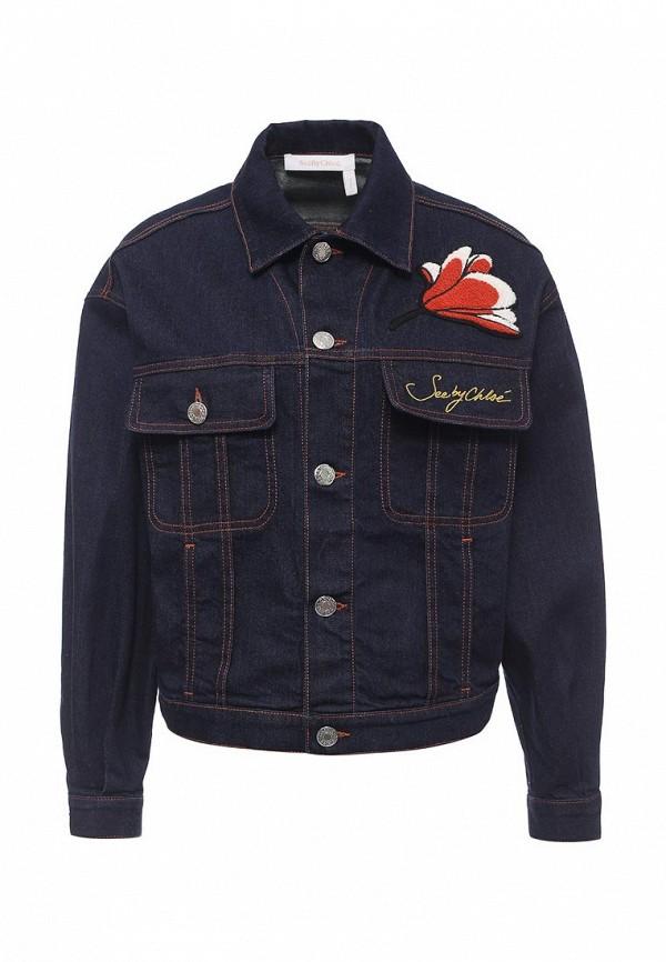 Куртка джинсовая See by Chloe S7SDV01-S7S150